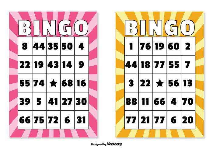 Bingo Card Illustrations Download Free Vector Art Stock