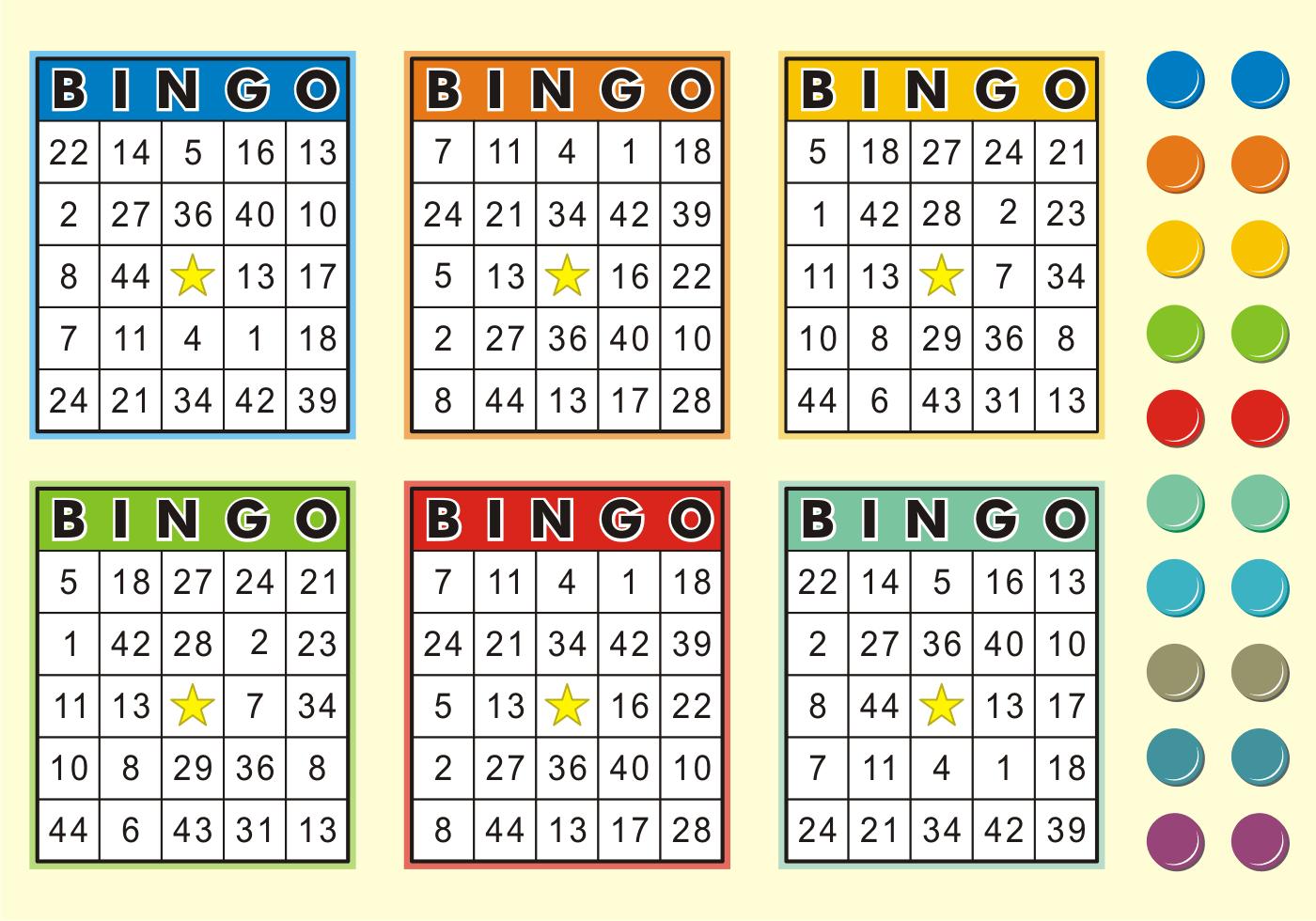 Bingo Template 75 1 Cards