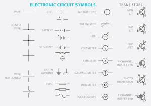 Electronic Circuit Symbol Vectors  Download Free Vector