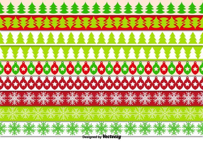 Decorative Christmas Borders Download Free Vector Art