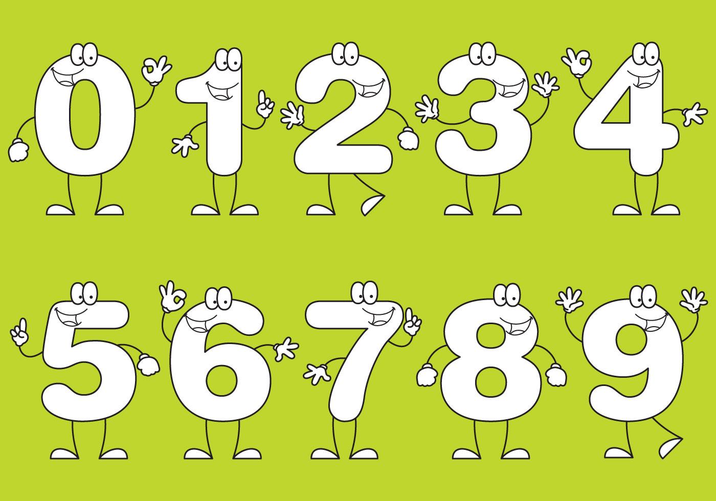 Number Cartoons Download Free Vector Art Stock Graphics