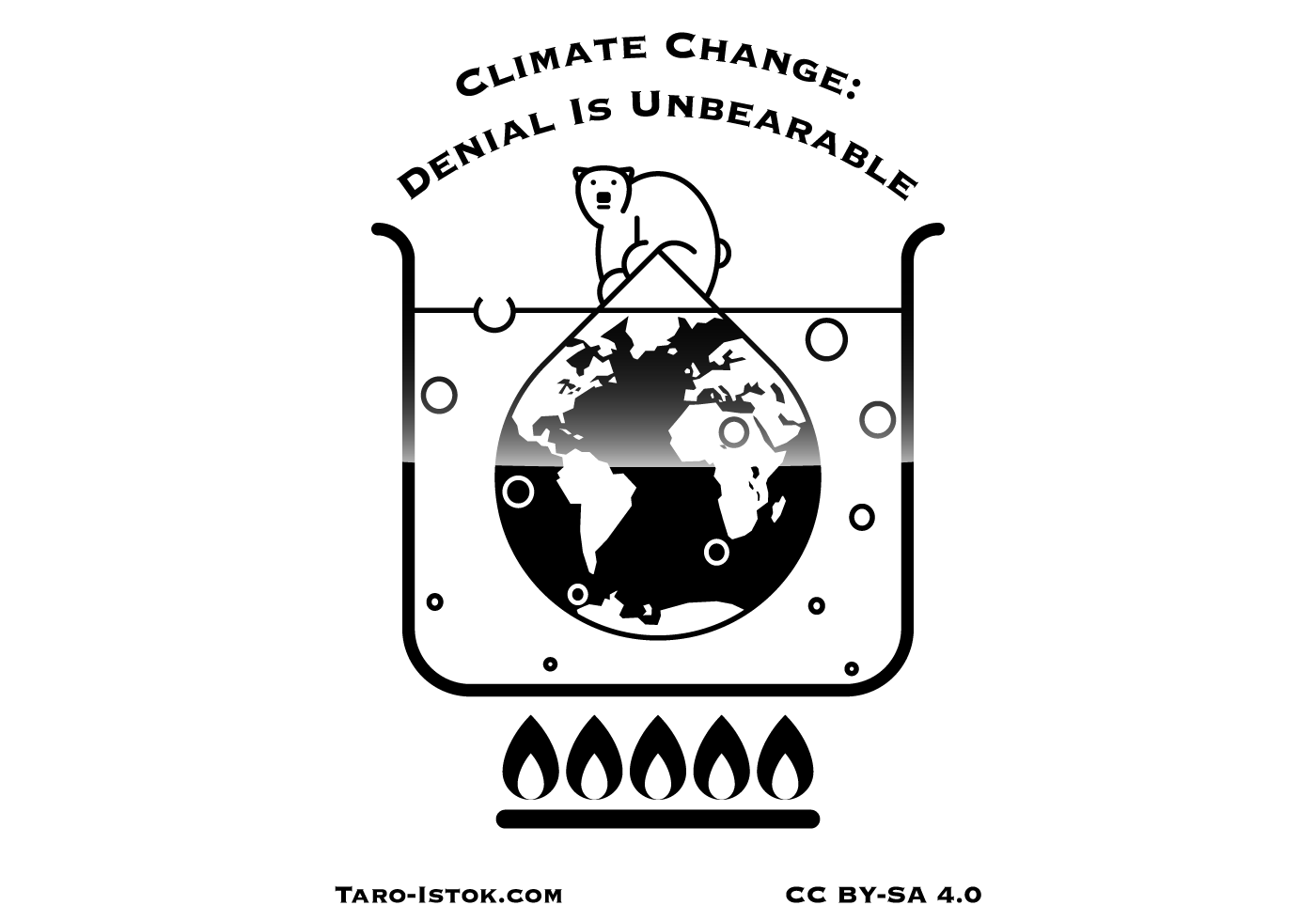 Climate Change Free Vector Art