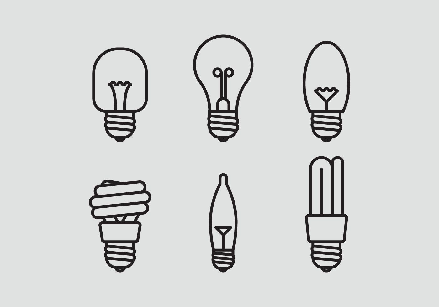 Light Bulb Free Vector Art