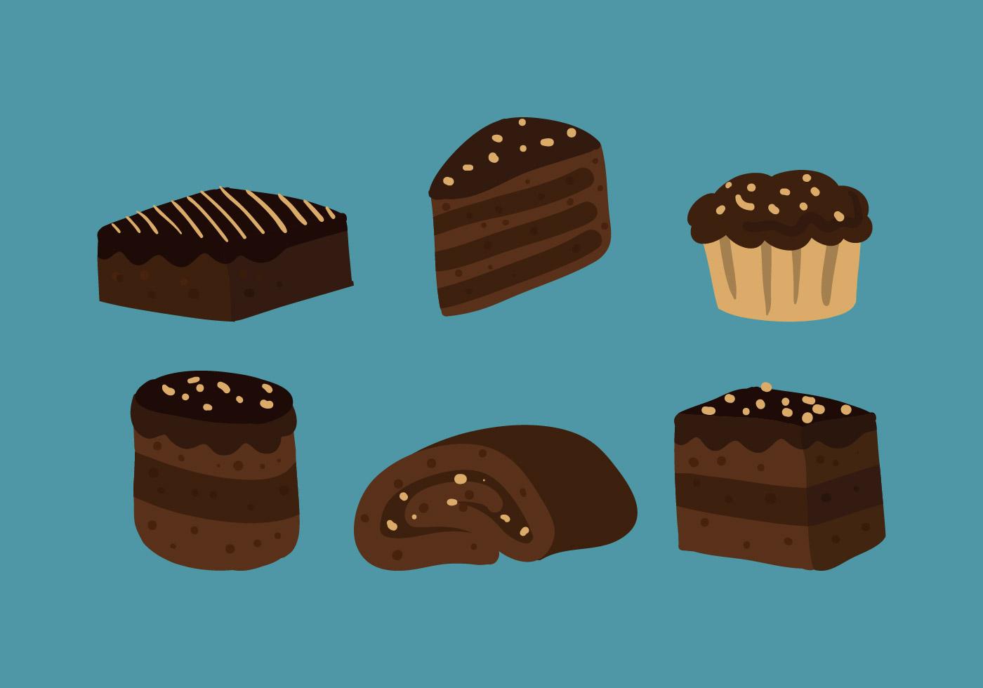 Brownie Vector Download Free Vector Art Stock Graphics