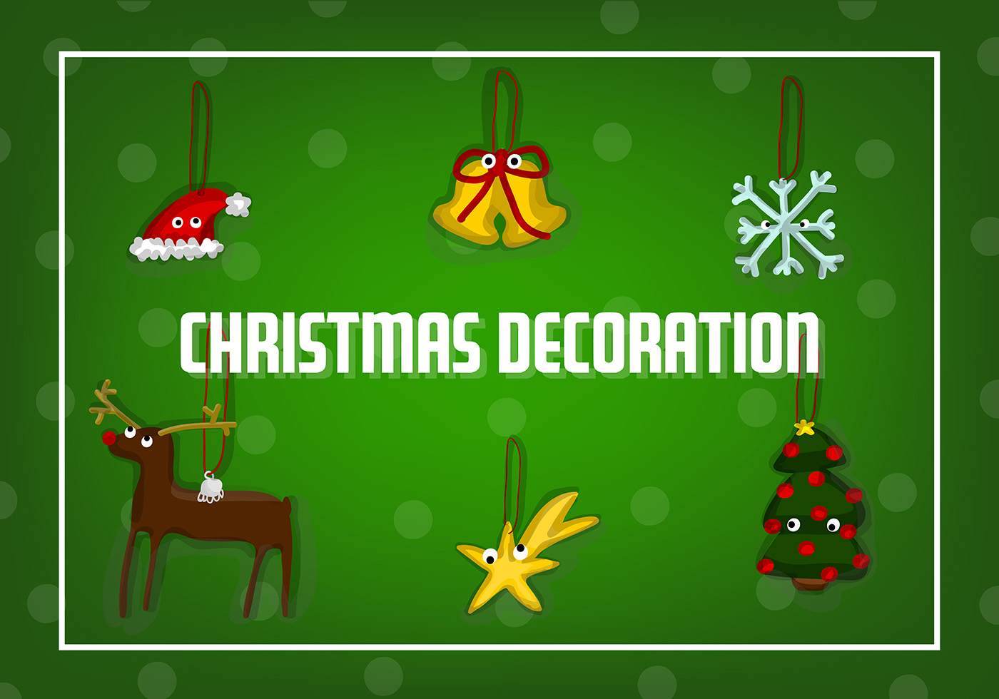 Free Christmas Decorations Vector Download Free Vector