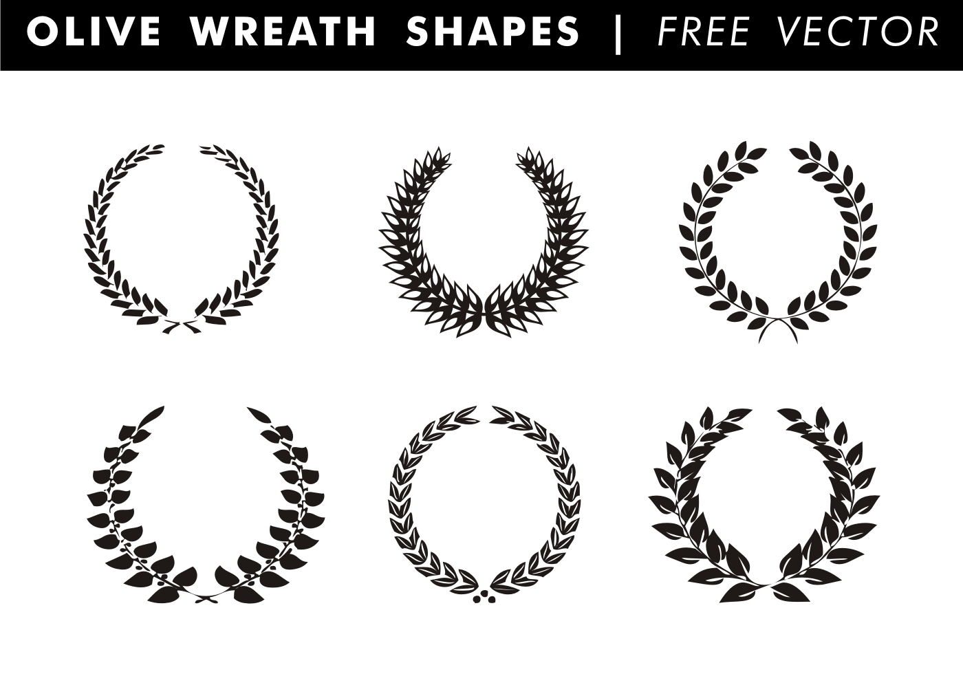 Olive Branch Free Vector Art