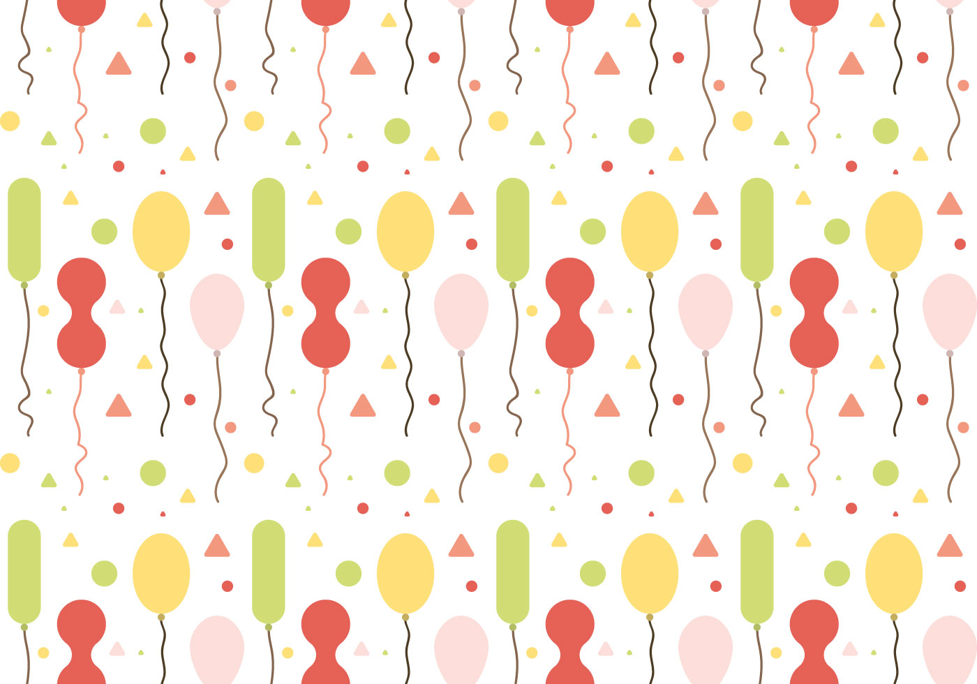 Free Balloons Pattern Vector 1 Download Free Vector Art