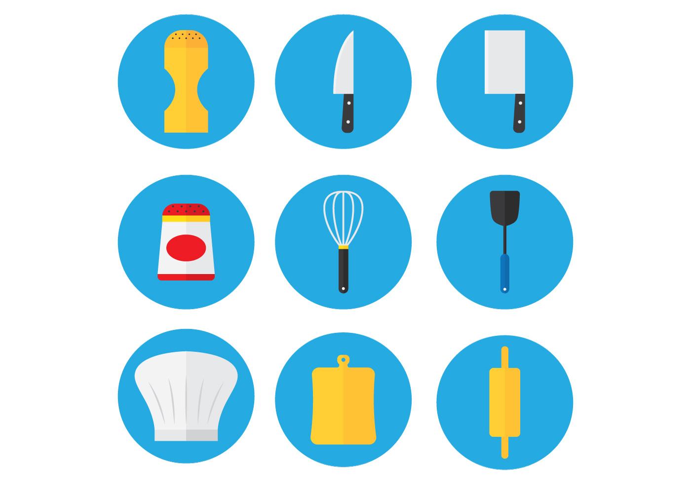 Kitchen Set Icon Download Free Vector Art Stock