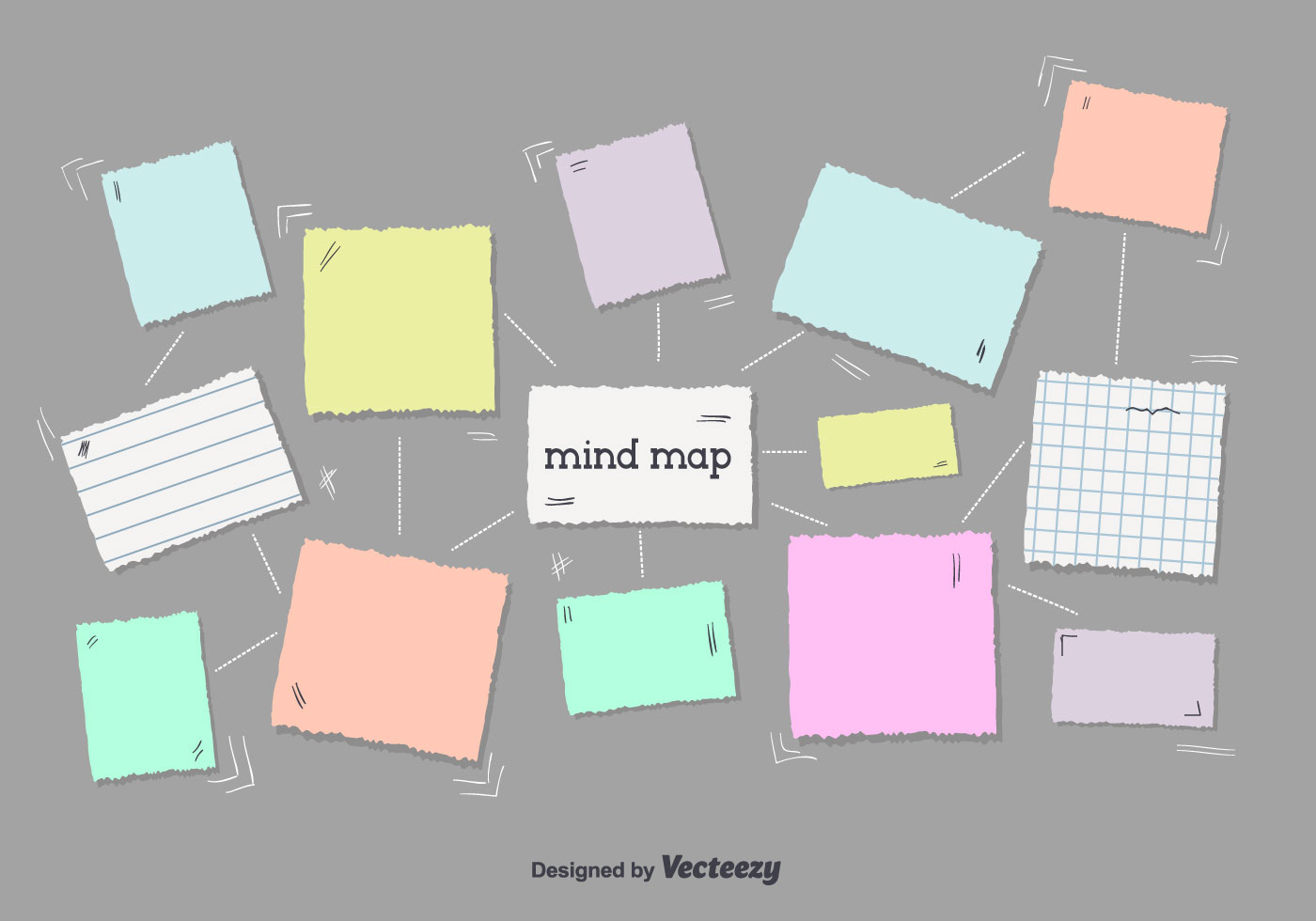 Free Mind Map Vector