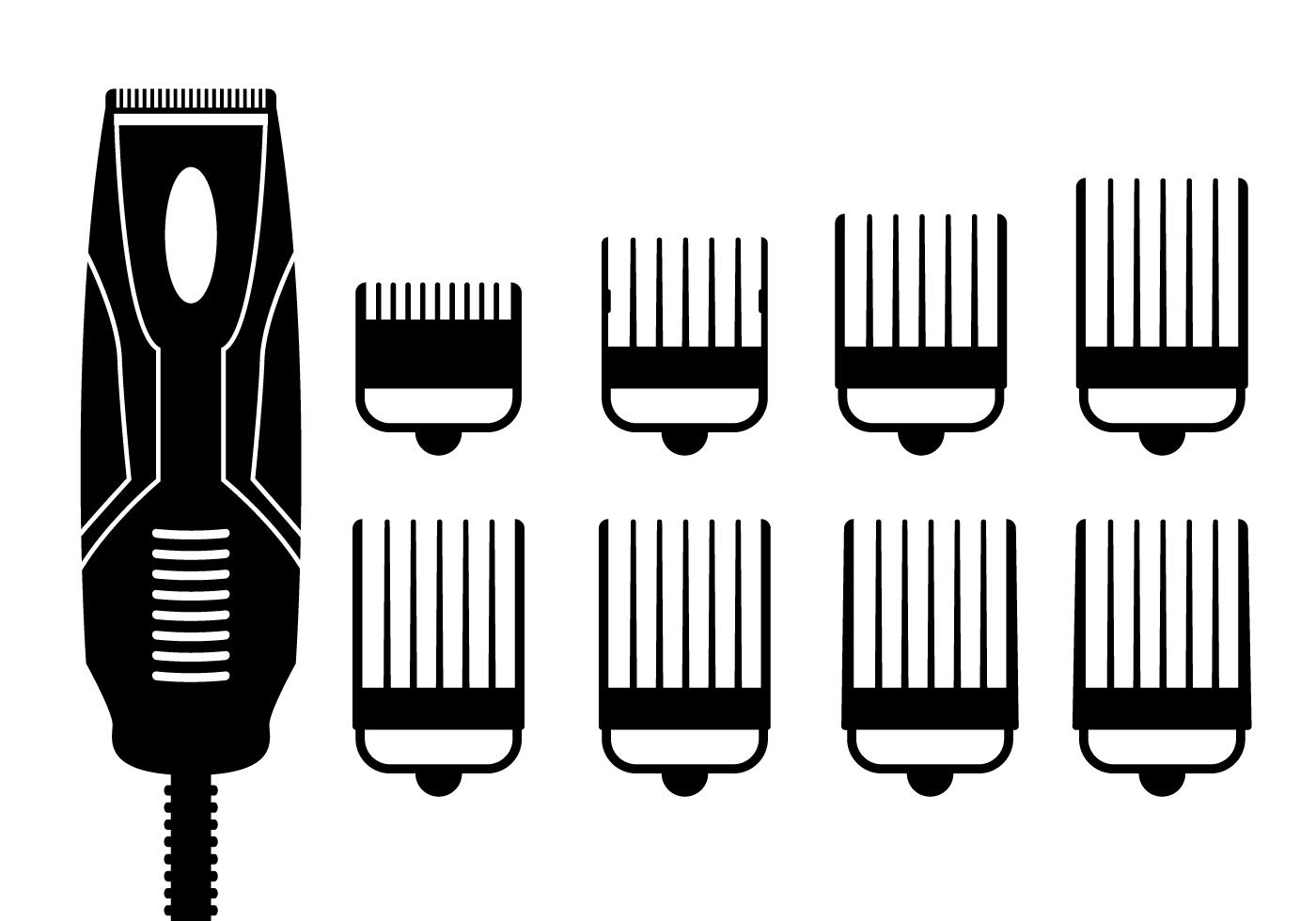 Hair Clippers Vector