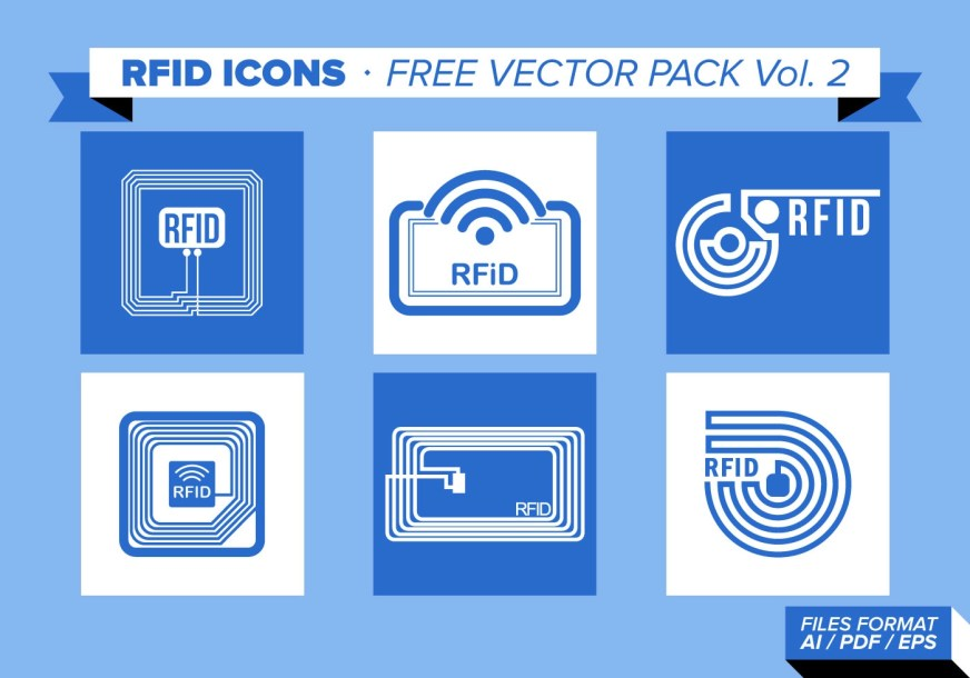Rfid Icons Free Vector Pack Vol. 2 - Download Free Vector ...