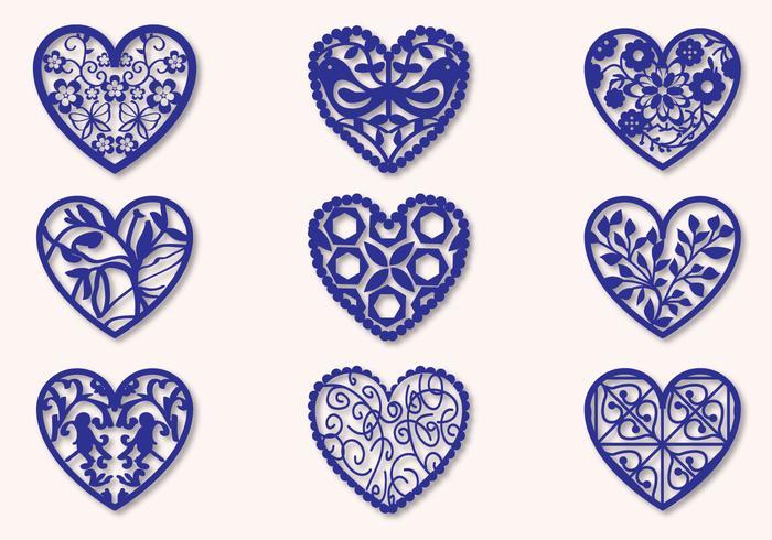 Fretwork Heart Vectors Download Free Vector Art Stock