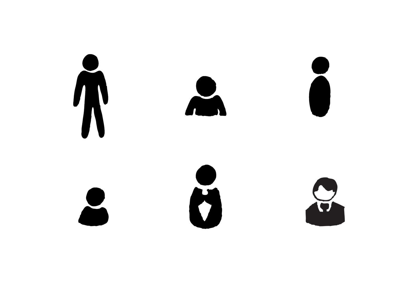 Free Man Icon Vector Series