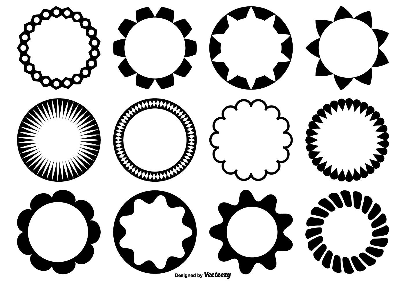 Circle Vector Shapes
