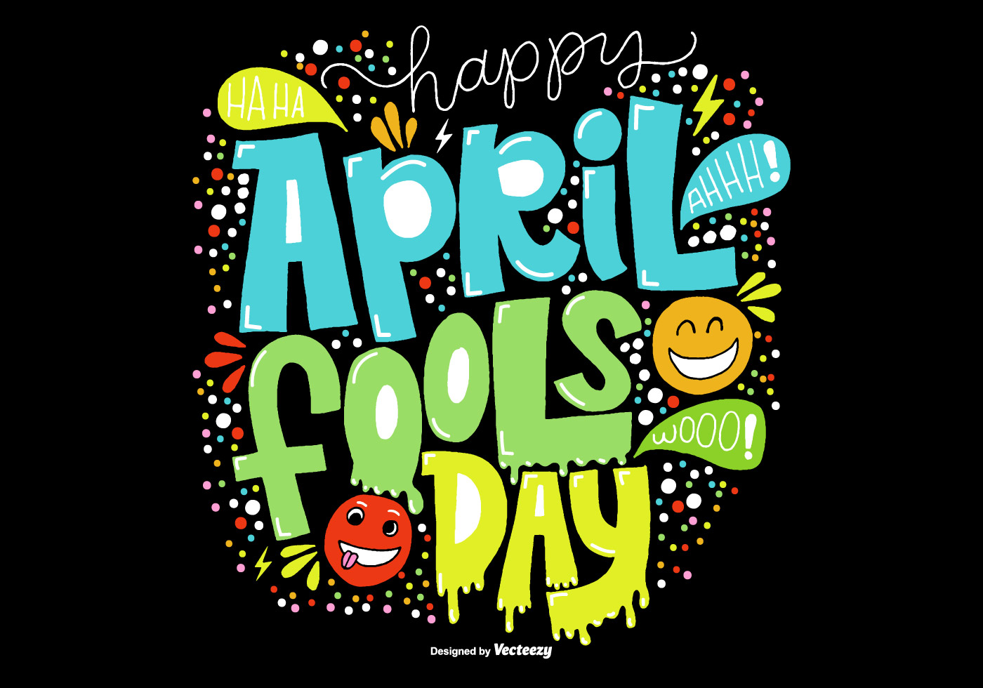 Hand Drawn April Fools Day Vector Download Free Vector