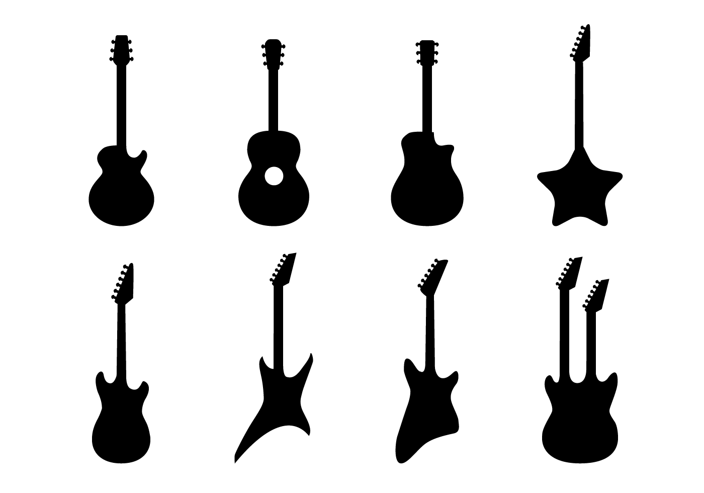 Guitar Free Vector Art
