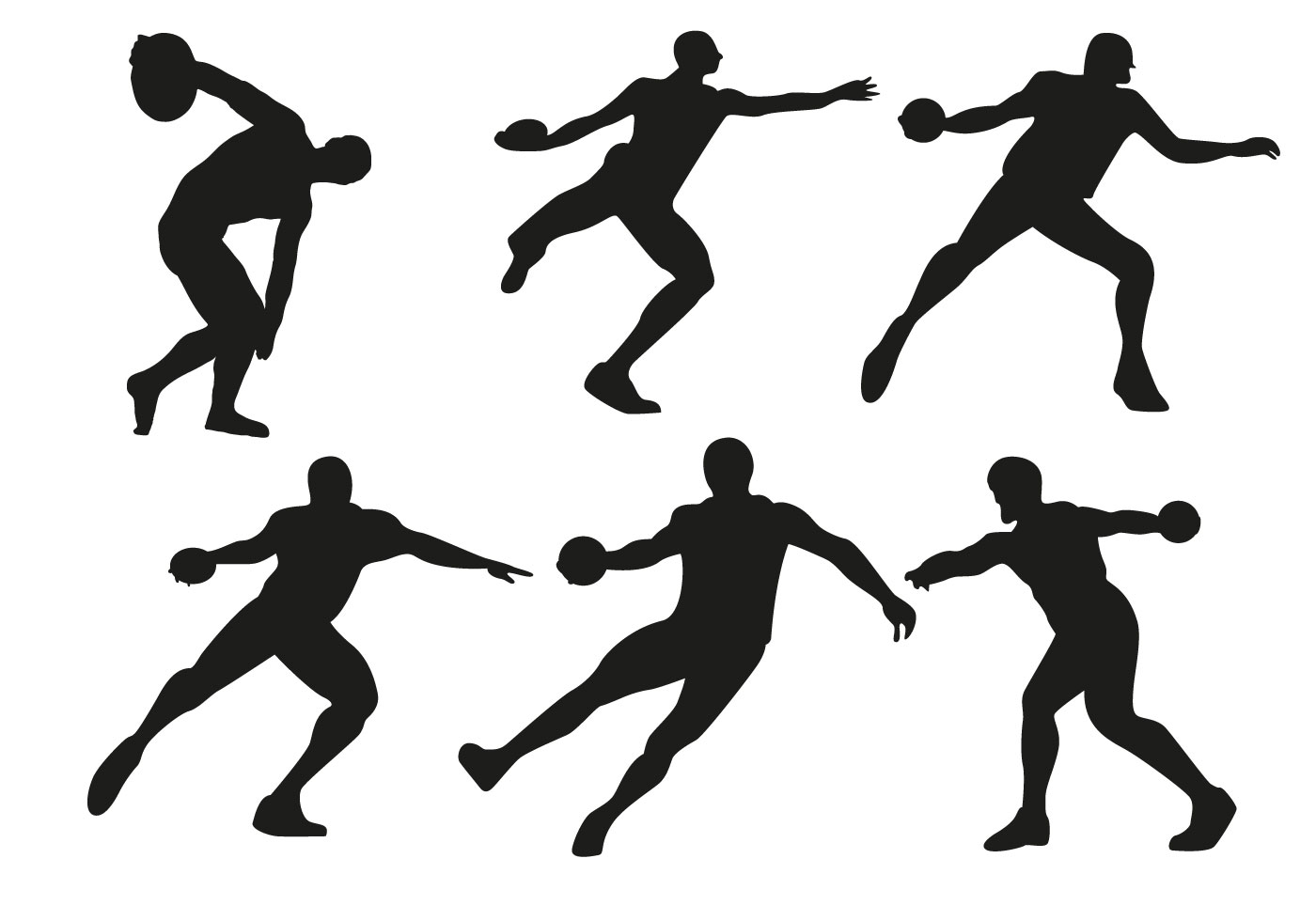 Free Discus Thrower Vector