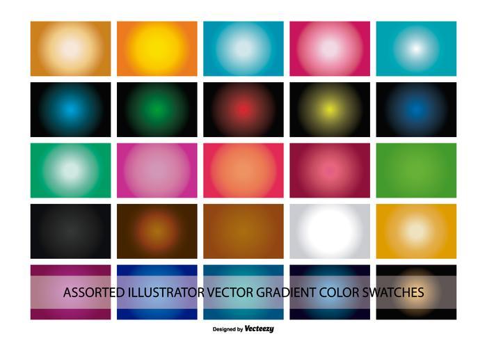 Illustrator Gradient Color Swatches Download Free Vectors Clipart Graphics Vector Art