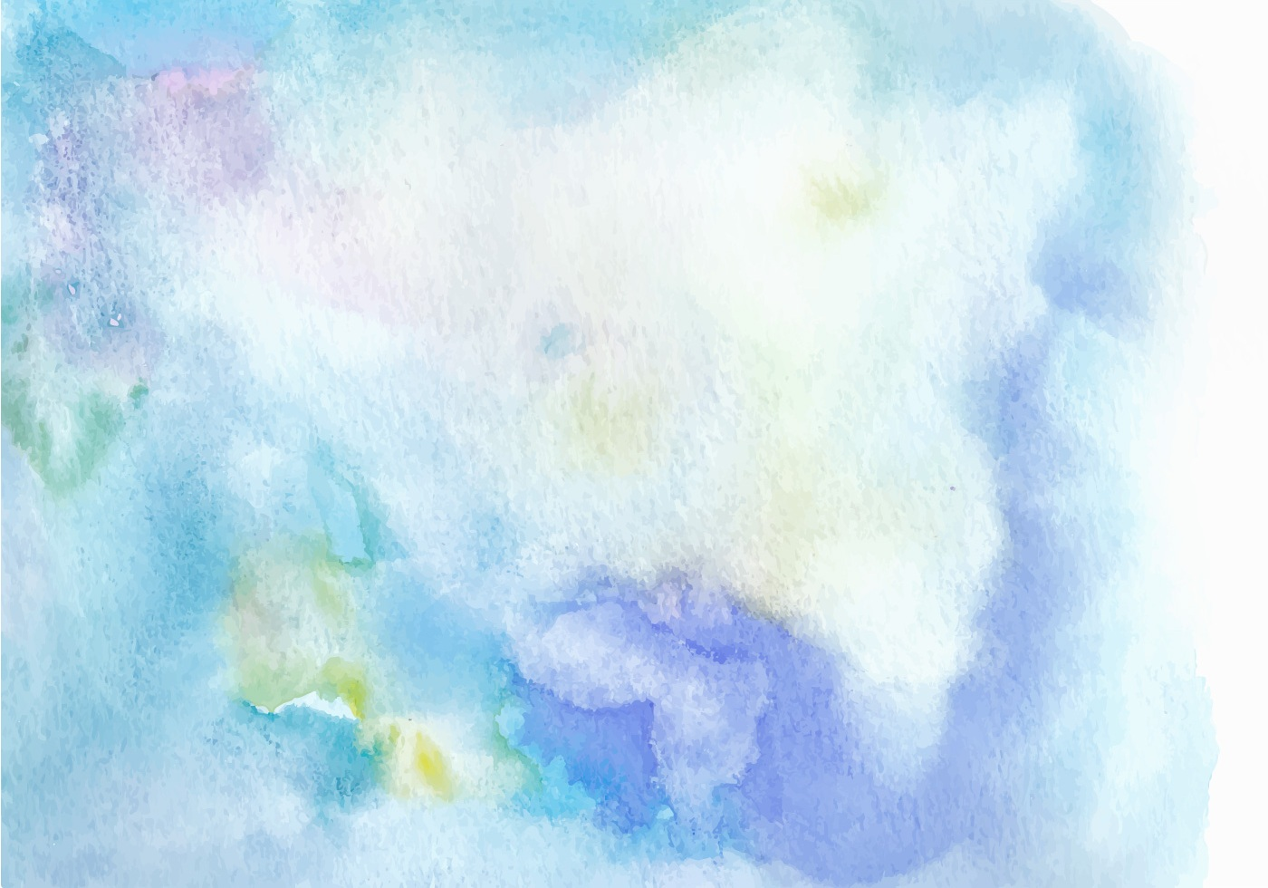 Light Blue Free Vector Watercolor Texture Download Free