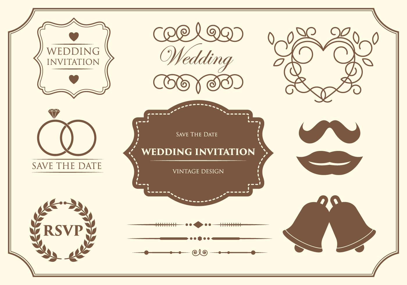 Free Wedding Ornament Vectors Download Free Vector Art