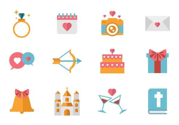 free wedding icons # 13