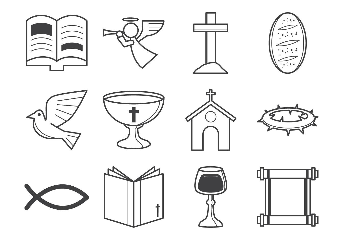 Christian Religion Icon Vector