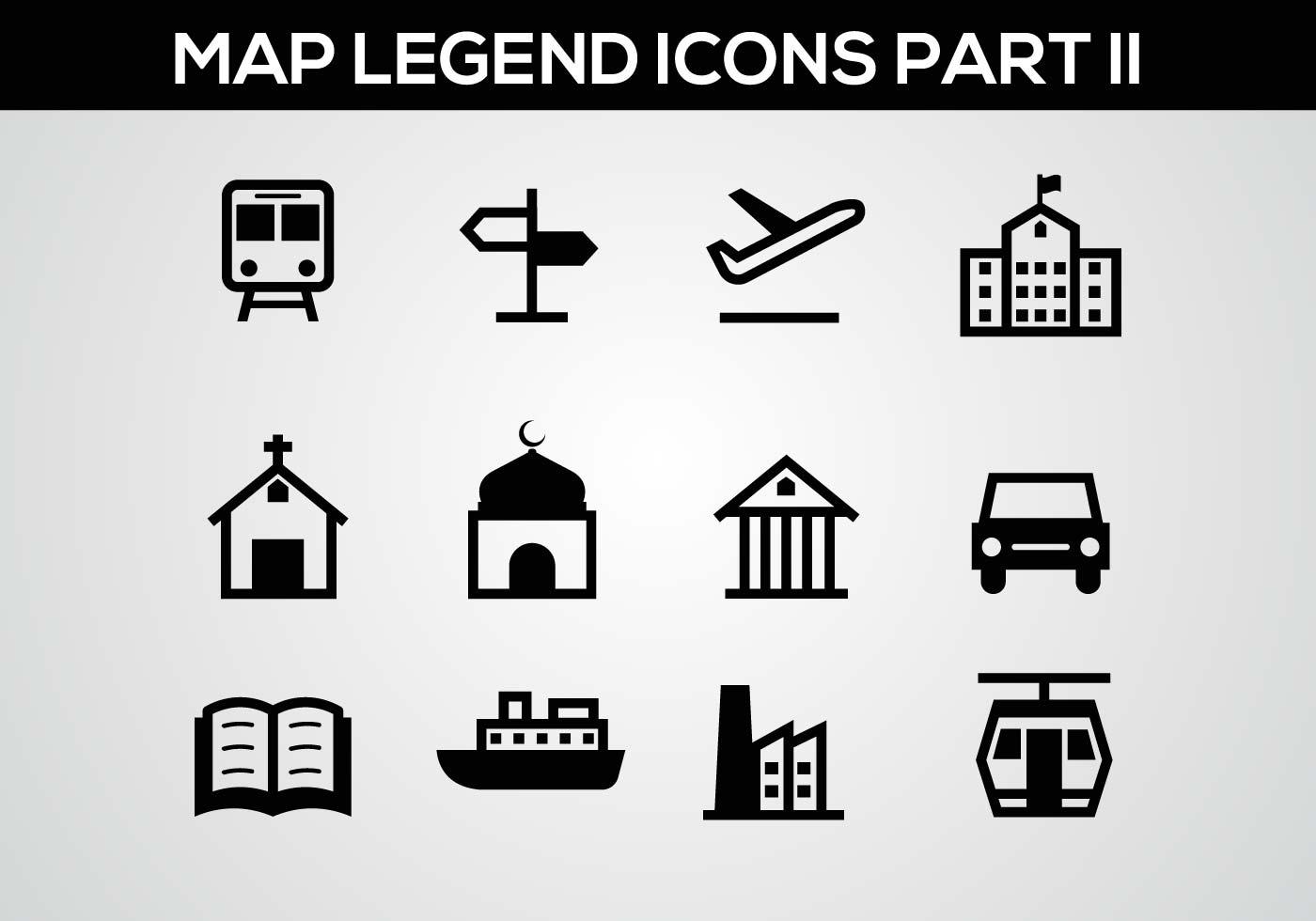 Free Map Legend Part Ii Vector