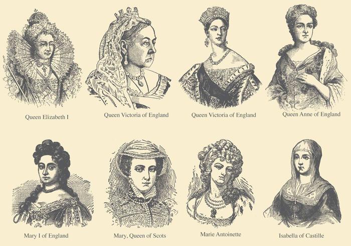 Queens Of Europe Download Free Vector Art Stock