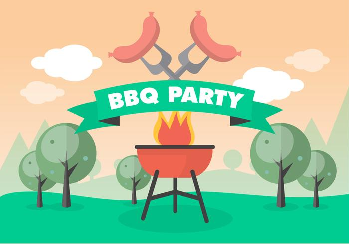 Barbeque Party Greeting
