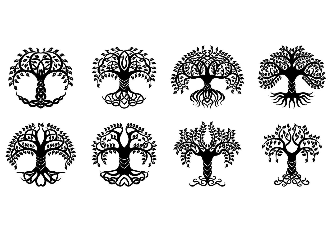Celtic Tree Free Vector Art