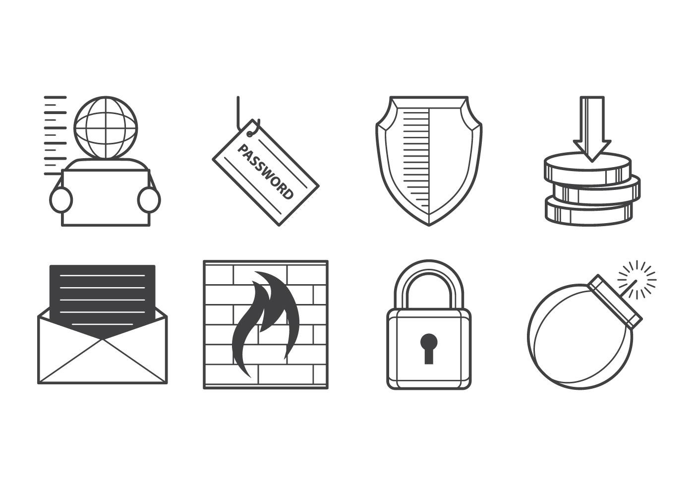 Free Cyber Crime Icon Vector