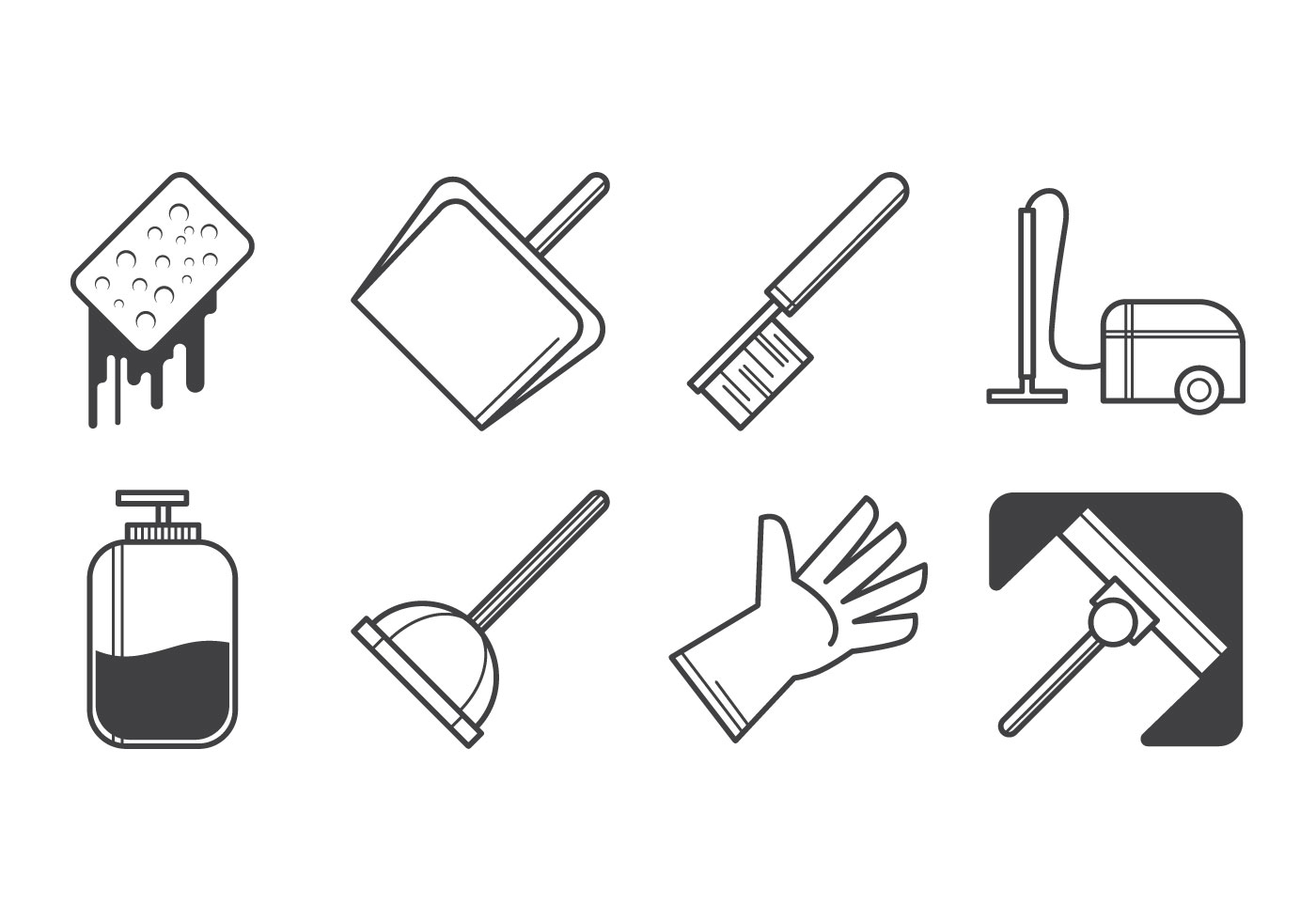 Free Cleaning Icon Vector