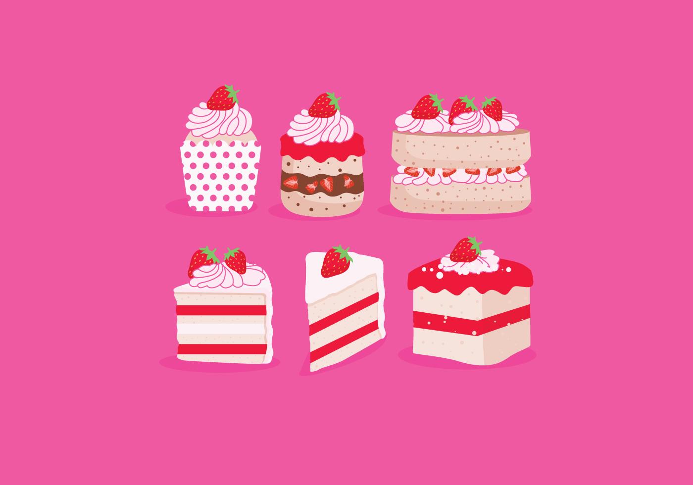 Strawberry Shortcake Vector Download Free Vectors