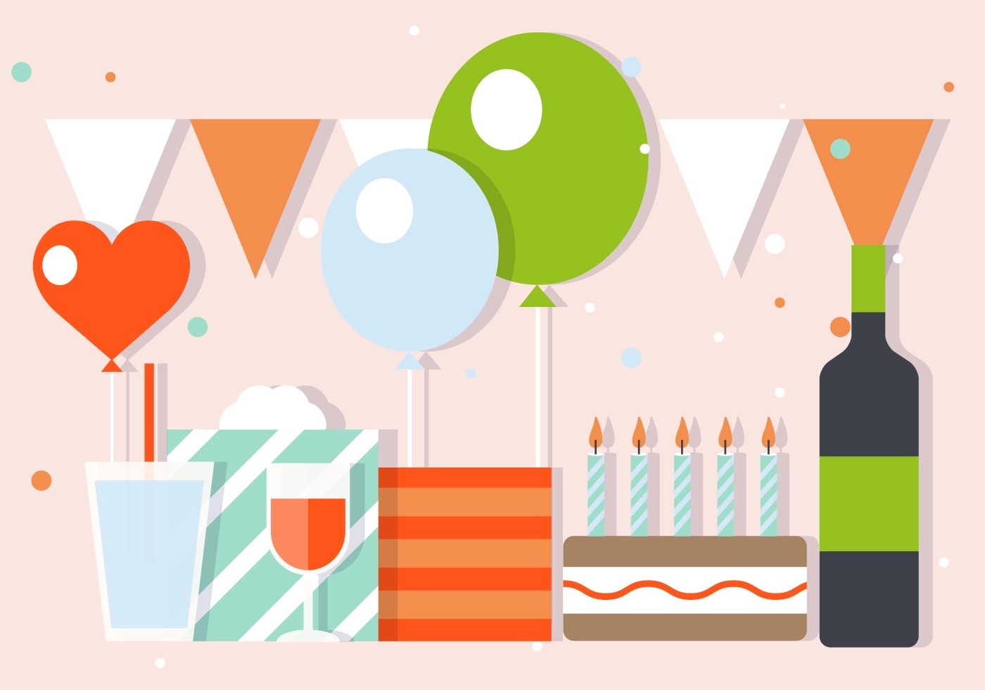 Party And Celebration Vector Illustration Download Free
