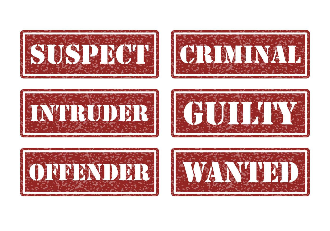 Criminal Justice Free Vector Art