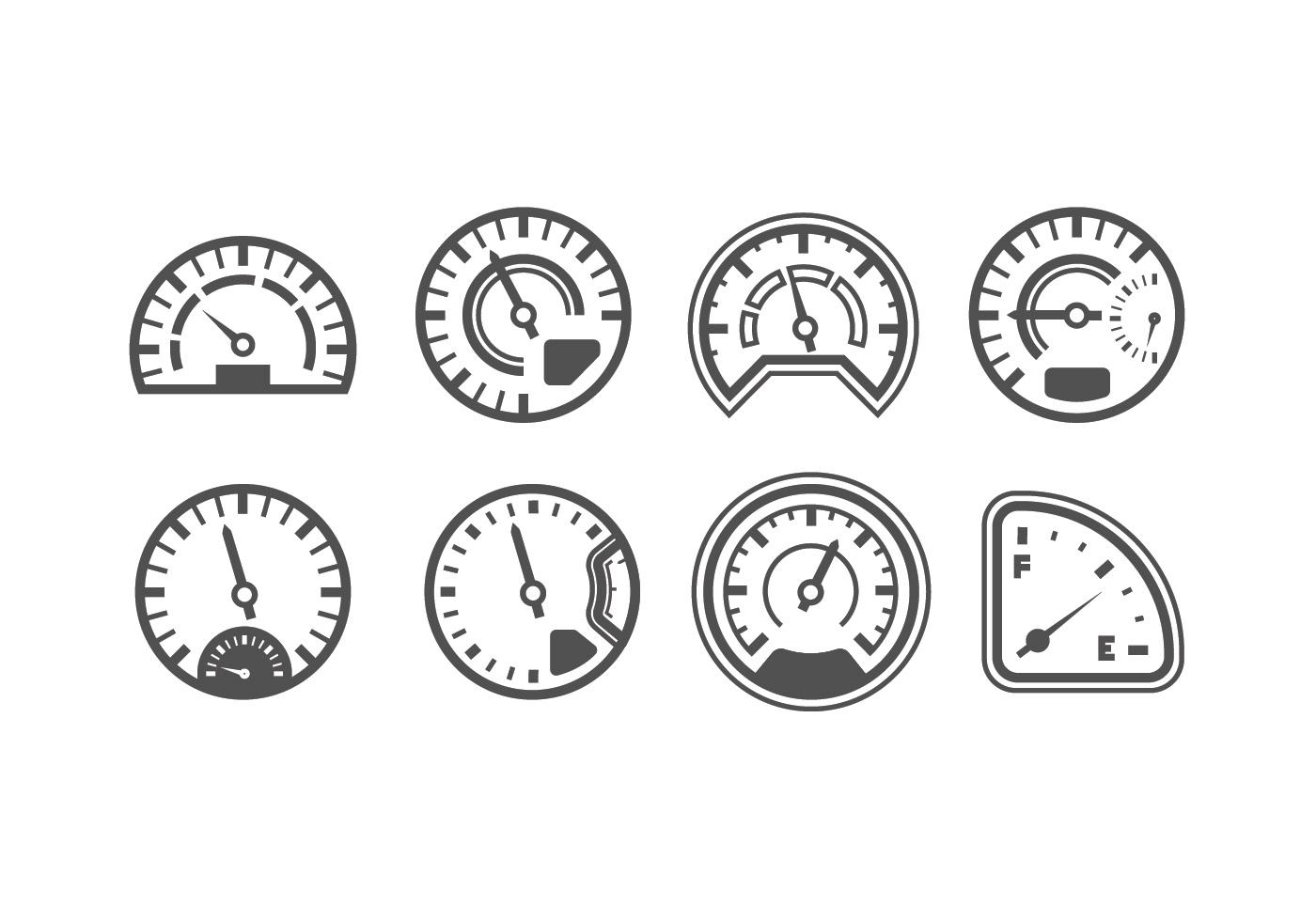 Pack Of Speedometer Vectors