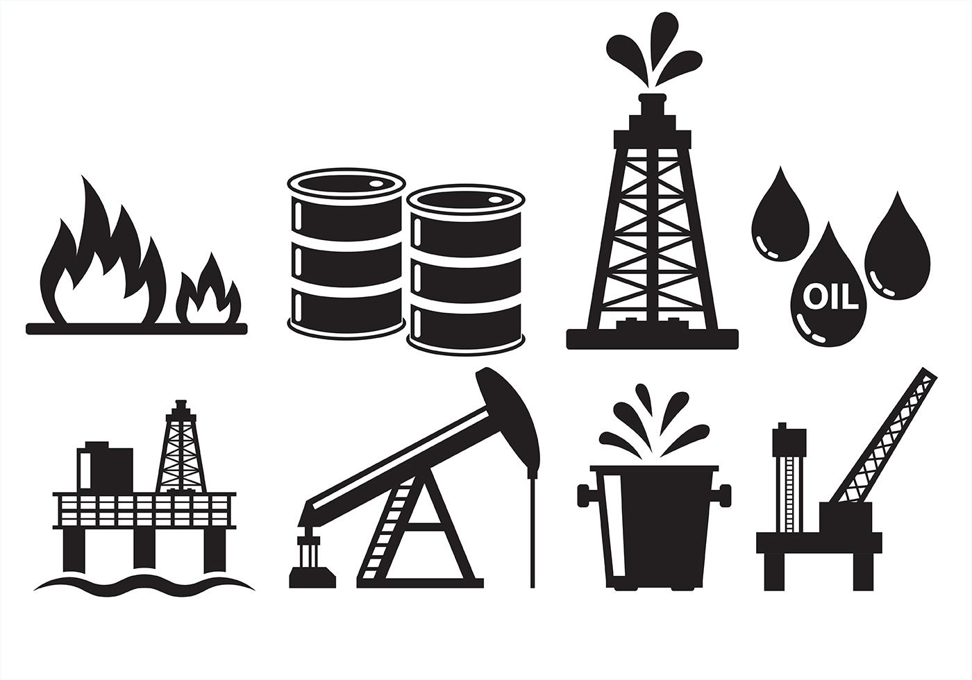 Iconos Del Campo Petrolifero