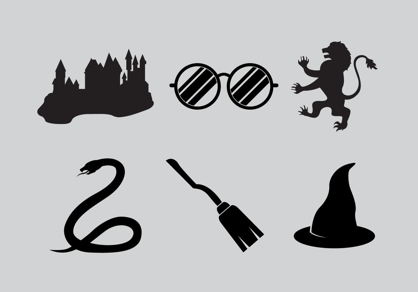 Hogwarts Icons