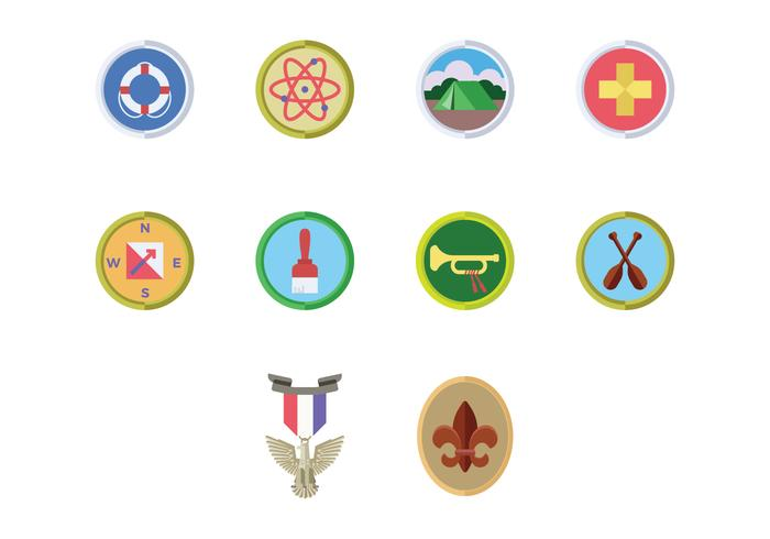 Free Boy Scouts Badge Vector Download Free Vectors