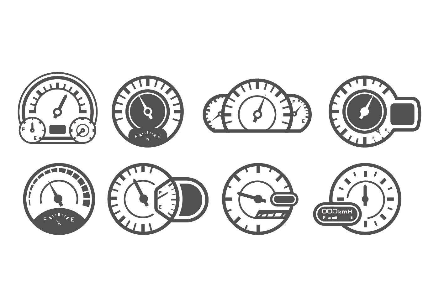 Speedometer Vectors