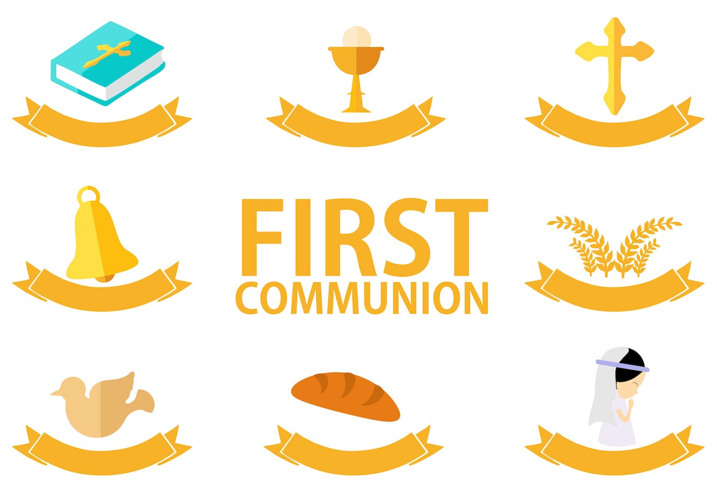 Free First Communion Vector