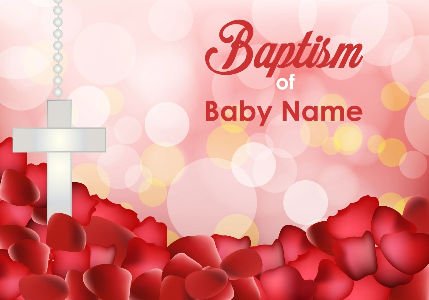baptism invitation templates 129614