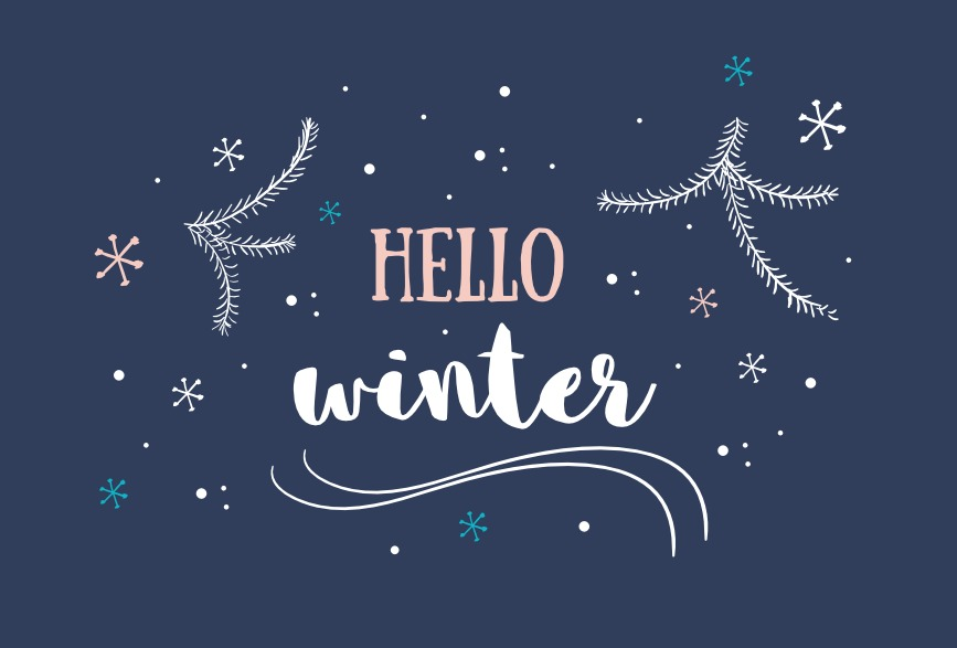 Hello Winter Background Download Free Vector Art Stock