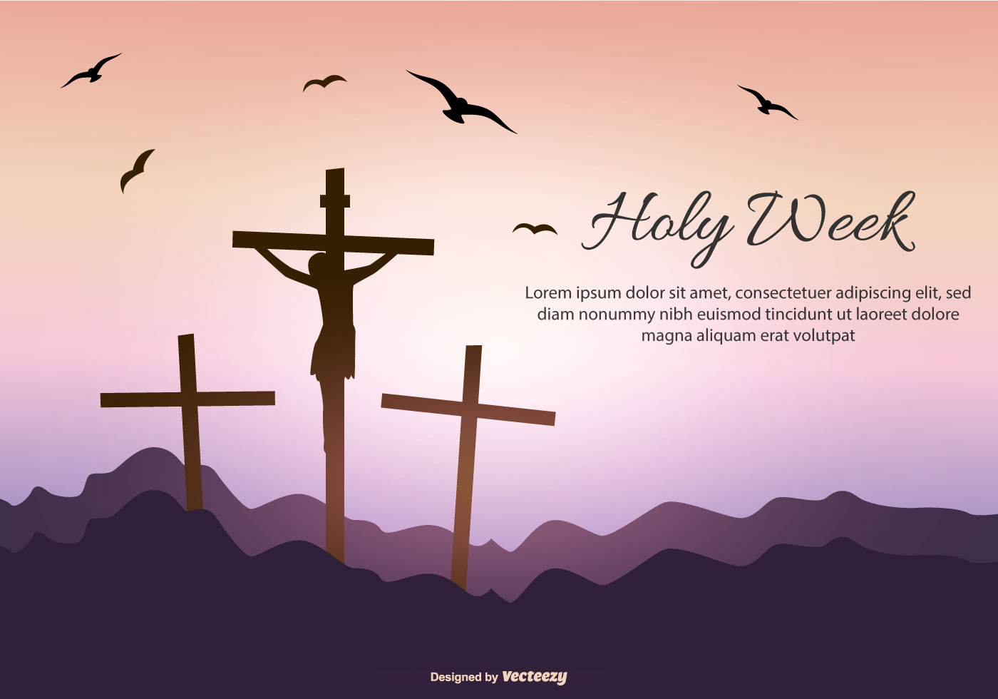 Holy Week Free Vector Art