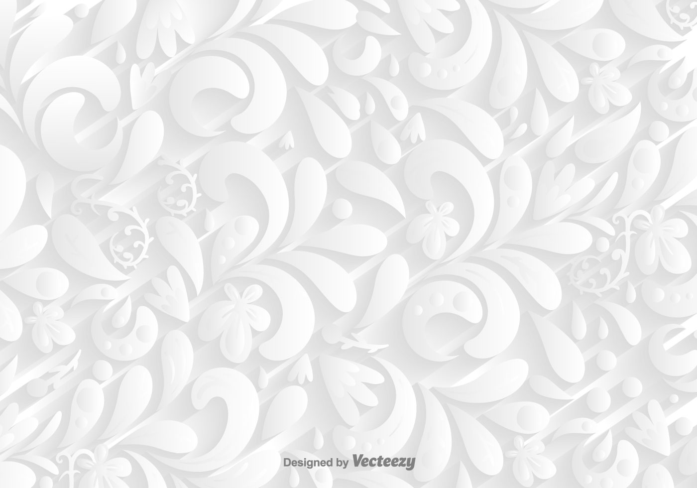 Vector White Ornamental Background Download Free Vectors Clipart Graphics Vector Art