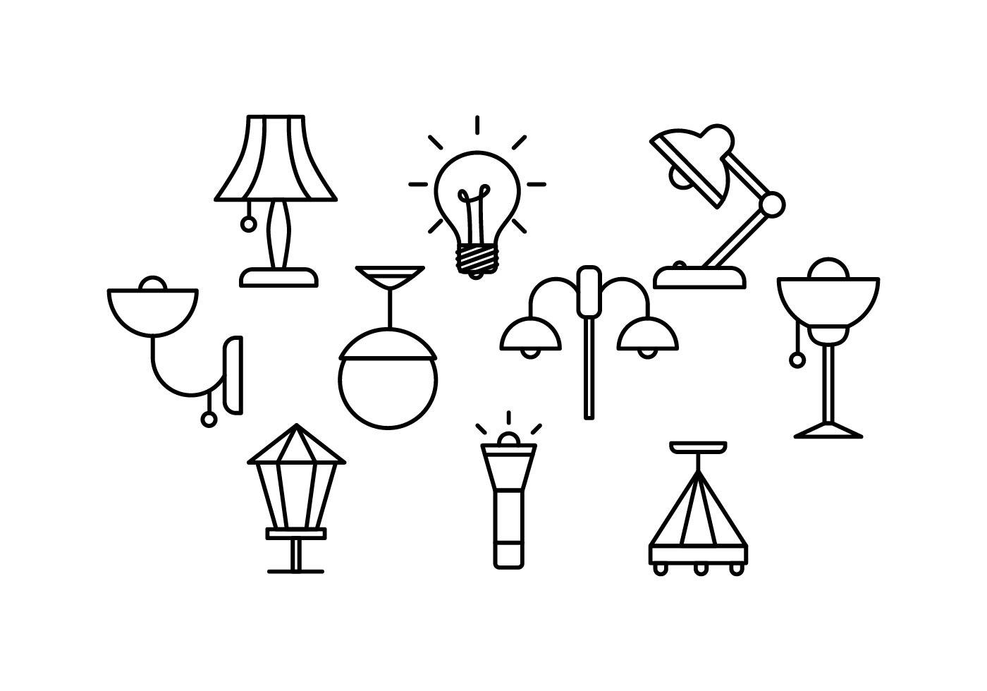 Lamp Free Vector Art
