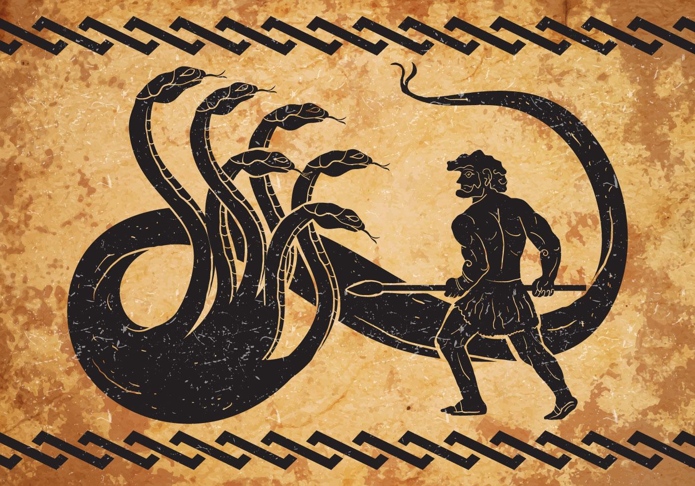 Hercules Second Labor