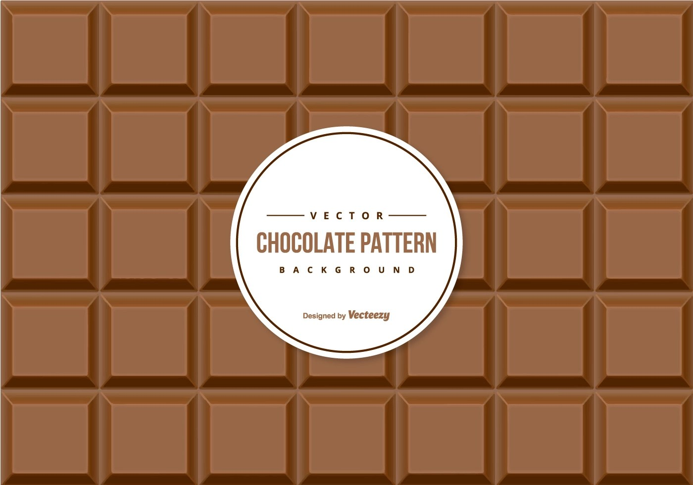 Chocolate Pattern Background Download Free Vector Art