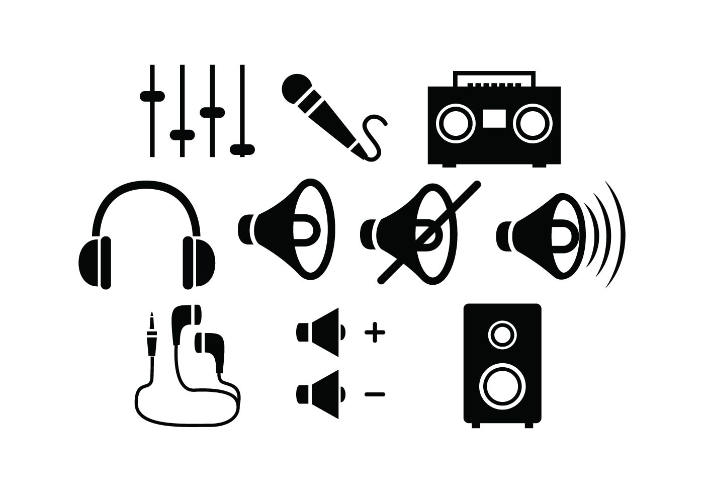 Microphone Free Vector Art