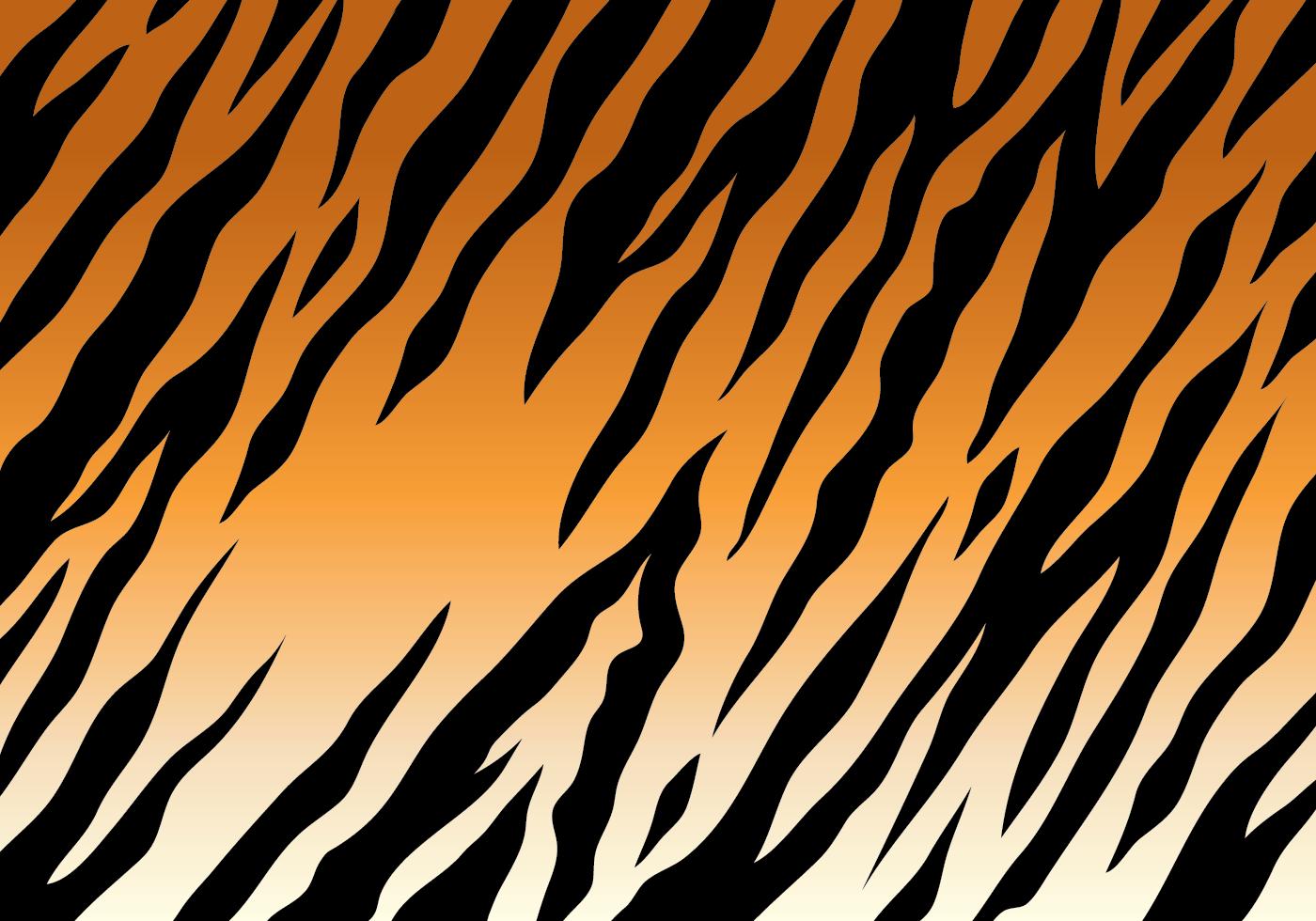 Tiger Stripe Background